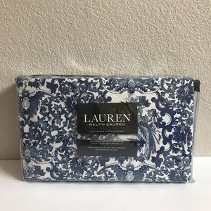 Ralph Lauren Blue & White Duvet Cover